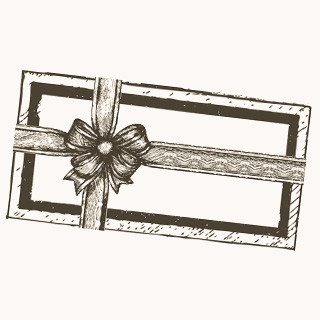Personalized gift card to insert in your Gourmet Gift Box