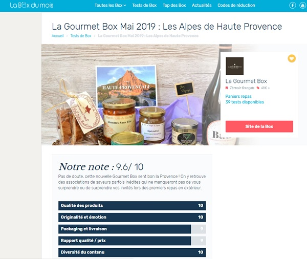 rating-french-gourmet-box-provence