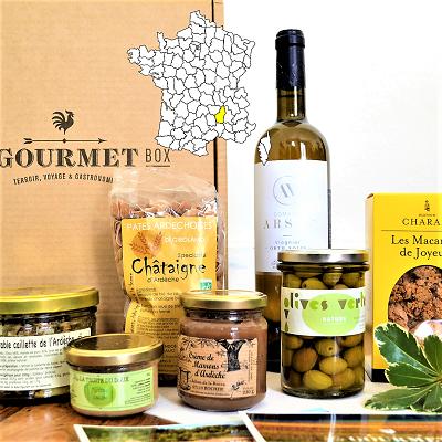 Coffret gastronomique Ardéchois de la Gourmet Box