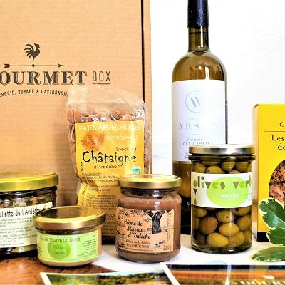 Coffret cadeau gourmand La Gourmet Box