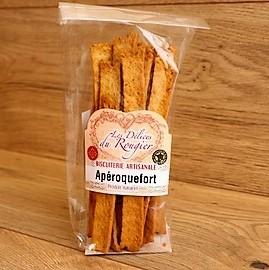 Coffret gourmand Aveyron biscuits apéritifs au Roquefort