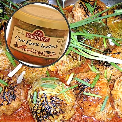 Choux farcis Coffret gourmand de l'Aveyron La gourmet Box