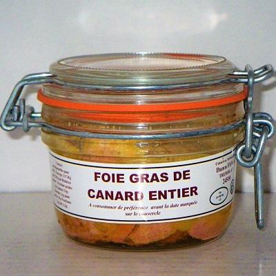 Homemade foie gras Sauternes gift box La gourmet Box