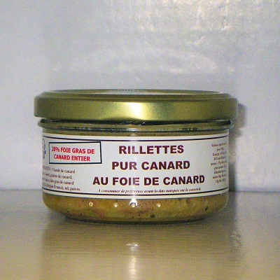 French homemade foie-gras Rillettes French hors d'oeuvres gift by la Gourmet Box