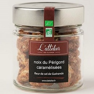 Candied Perigord Wallnuts Sauternes and foie gras gift box