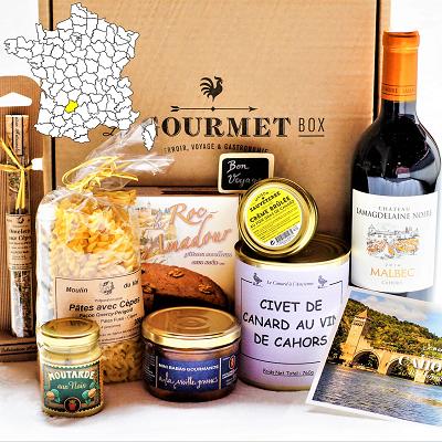 coffret gourmand terroir Cahors