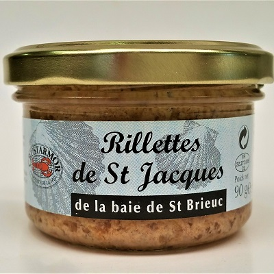 Breton scallops spread gourmet box