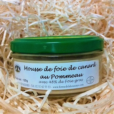 duck foie gras mousse Normandy gourmet gift box