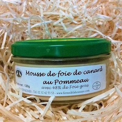 duck foie gras mousse Normandy gourmet gift box