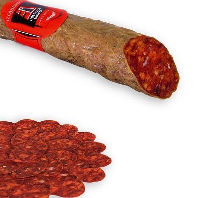 Iberian chorizo de bellota sausage gourmet food box