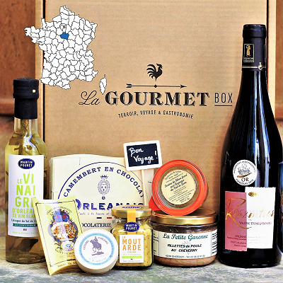 French Gourmet food gift box Loire Valley