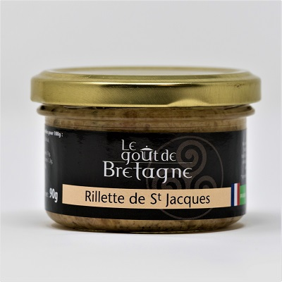 organic scallops rillettes seafood French gourmet box
