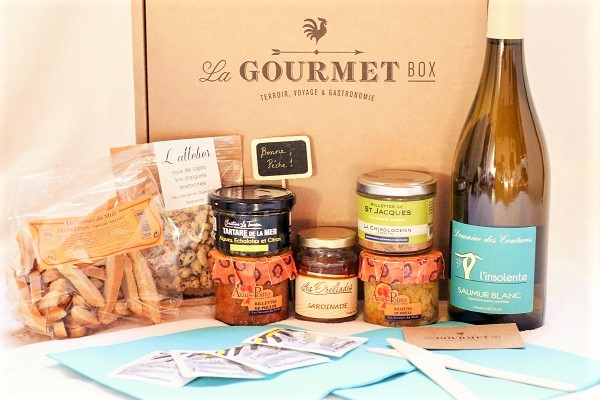 La Gourmet Box sea food french hors d'oeuvre