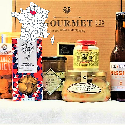 Paris Gourmet food gift box
