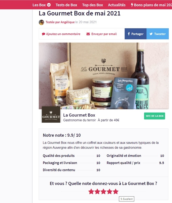 rating-french-auvergne-gourmet-box