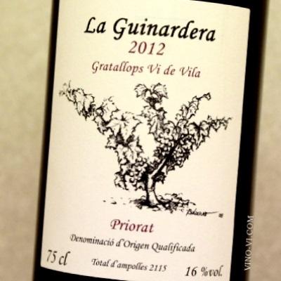 Coffret cadeau vin priorat La Guinardera 2012