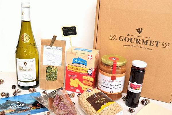 Die Gourmet Box SAVOYEN Geschenk Delikatessen Frankreichs