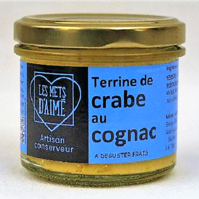 Crab terrine French hors d'oeuvres gift box by la Gourmet Box