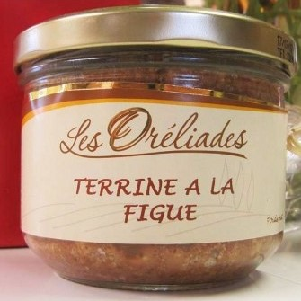 Provençal fig terrine French gourmet gift box