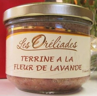 Provence lavender terrine French food and drink gift box