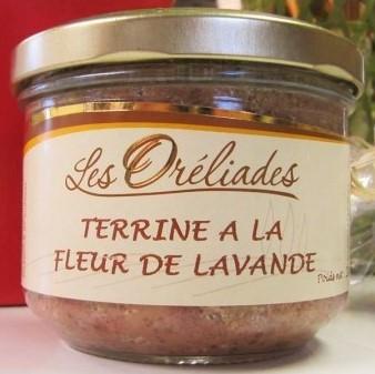 Terrine Fleur lavande Oréliades