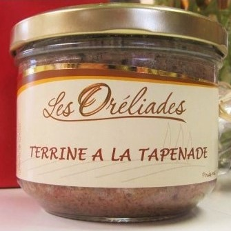 Tapenade terrine French food and drink gift box