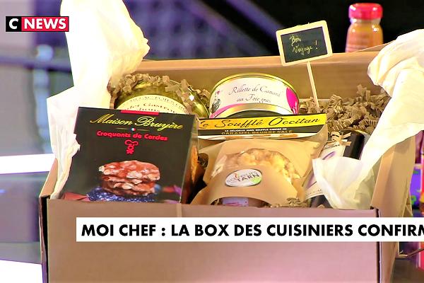 new style ff9ce 5e95d TV Reportage : La Gourmet Box dans La Chronique Gastronomique de CNews
